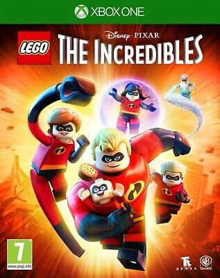 LEGO The Incredibles Xbox One * NEW SEALED PAL *