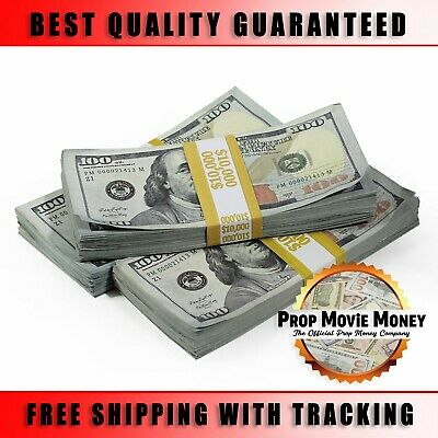 $30,000 - Prop Money BLANK FILLER Aged Fake Play Stacks for Movie & Music Videos