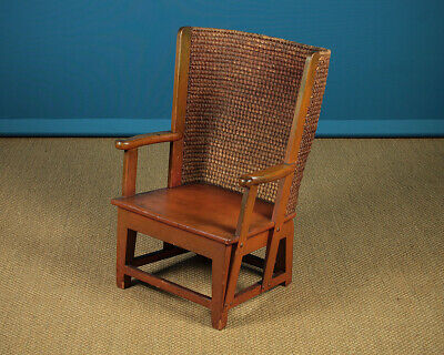 Straw Back Orkney Armchair c.1930.