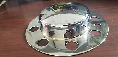 Dome Chrome Front Hub Cover - 8 Holes