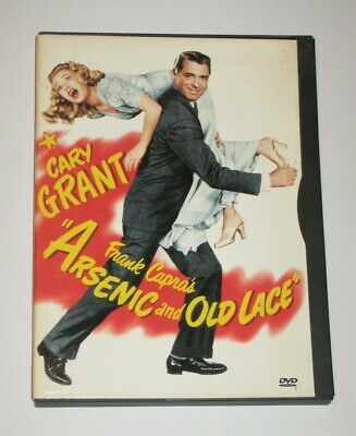 Arsenic and Old Lace (DVD, 2000) RARE OOP Cary Grant Region 1 USA Flawless Disc