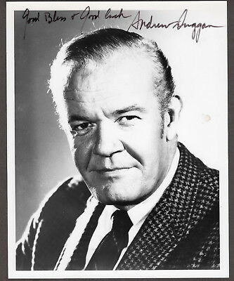 Andrew Duggan Signed Autographed B&W Headshot / Photo - Melchior Collection
