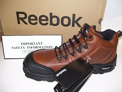 5758181282c REEBOK WORK MEN'S Tiahawk RB4444 Waterproof Work Boot Color BROWN ...