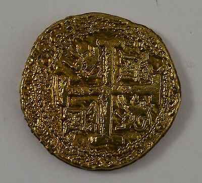 Spanish Gold Doubloon - Coins/Pirates/Treasure/Spanish/Gift/Present Bullion