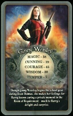 Ginny Weasley Harry Potter & The Half-Blood Prince 2009 Top Trumps Card (C2545)