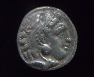 Greek Silver Drachm of Alexander III The Great, 336-323 BC,  AC0203