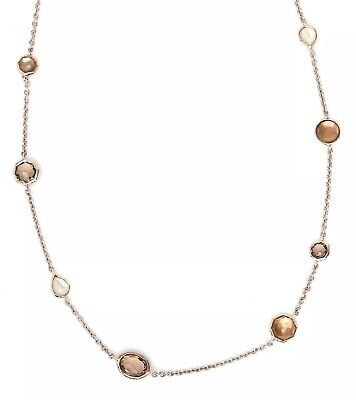 "IPPOLITA Rock Candy Mini Station Necklace 16"" in Sterling Silver 0419"