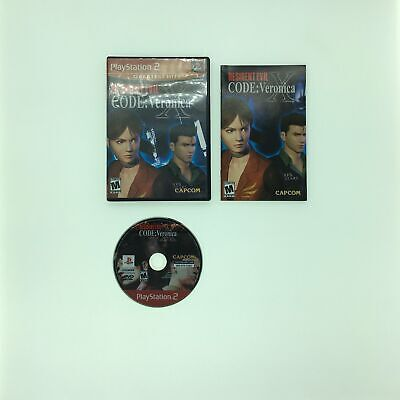 Resident Evil: Code: Veronica X • Sony PlayStation 2 PS2