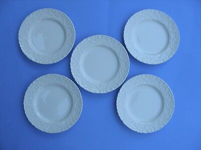 Ralph Lauren CLAIRE Bread & Butter Plates - SET of 5 - Wedgwood