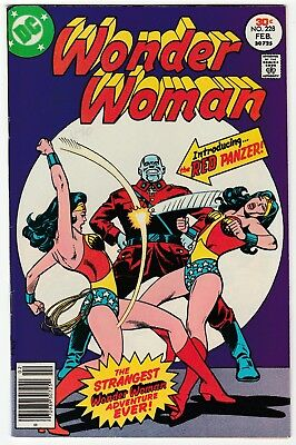 Wonder Woman #228 Feb 1977 VF 8.0 DC Comics 1st App Red Panzer