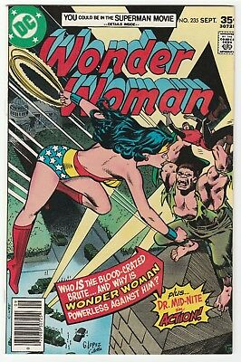 Wonder Woman #235 Sept 1977 VF+ 8.5 DC Comics