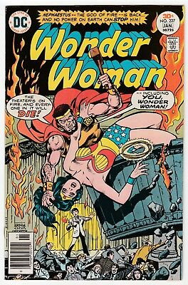 Wonder Woman #227 Jan 1977 VF- 7.5 DC Comics
