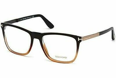 90952b76a7f8f Tom Ford TF5351 050 Black Brown Matte Rose Gold   Demo Lens 54mm Eyeglasses