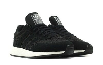 pretty nice 08e82 191a3 Adidas I-5923 Iniki D96608 Boost Running Shoes Black Men Size 12