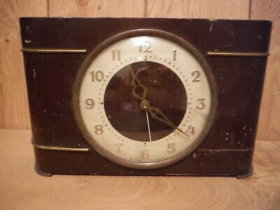 Westclox Scotland vintage electric clock for spares or repair (013)
