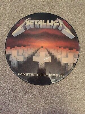 """Metallica Picture Disc 12"""" Vinyl - Master Of Puppets"""