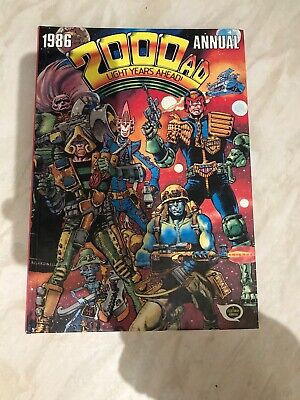 2000 AD Annual 1986 Light Years Ahead Very Good Condition