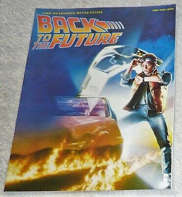 Sheet Music / Back To The Future Theme / Piano - Vocal - Guitar (Htf)