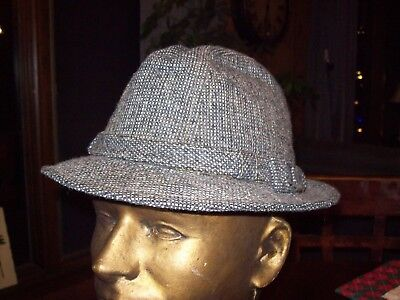 92c031aab31 VINTAGE THE SOVEREIGN STETSON GREEN FEDORA HAT Size 7 -  19.99 ...