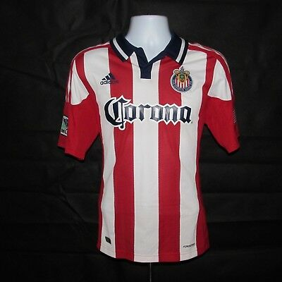 2011-2012 Chivas USA Home Soccer Jersey, Adidas, Football Shirt, Excellent, MLS