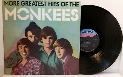 The Monkees More Greatest Hits Vinyl LP Arista ALB6-8334 - Play Tested NM *S6