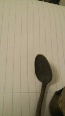 Antique Brass Double Ended Spoon