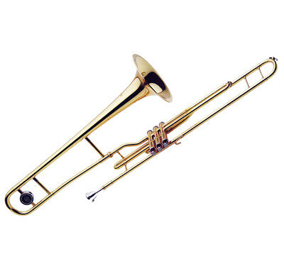 J Michael ATB600V Valve Trombone with Case B STOCK CLEARANCE One Year Warranty