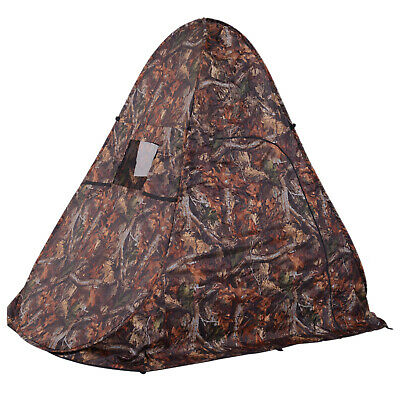 1-2 Person Pop Up Hunting Blind Tent Pop Up Hiking Shoot Tent Camo