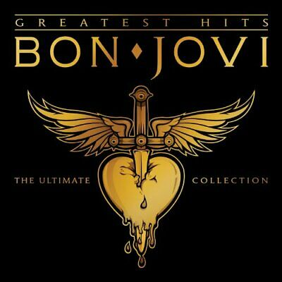 Bon Jovi Greatest Hits [Deluxe Edition] [Digipak] by Bon Jovi (CD, Nov-2010, 2 D