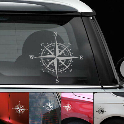 Accessories Art  Design Vinyl Door NSWE Compass Car Sticker Window Auto Decal