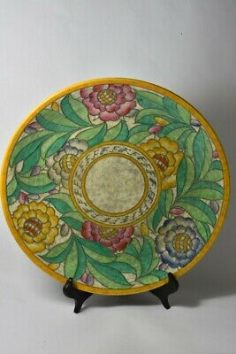 Charlotte Rhead Charger Persian Rose Design - signed