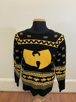 Urban Outfitters Ugly Christmas Sweater.Official Wu Tang Clan Urban Outfitters Ugly Christmas Sweater Size Small