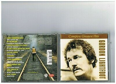 Gordon Lightfoot Cd.singles. The Best Of Greatest Hits.complete