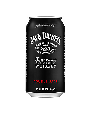 Jack Daniel's Double Jack & Cola Cans 10 Pack 375mL Whisky pack of 10