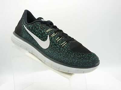 grossiste 5dc09 156a0 NIKE FREE RN Distance 827115-004 Sz 13 M Black Green Training Running Mens  Shoes