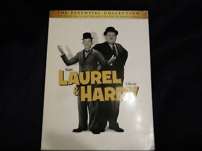 Stan Laurel & Oliver Hardy - The Essential Collection (DVD, 10 discs, 2011)