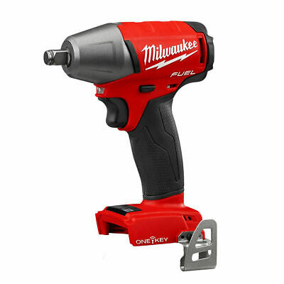 Milwaukee 18V Li-ion Brushless M18 Fuel ONE-KEY 1/2 Drive Impact Wrench FREE DEL