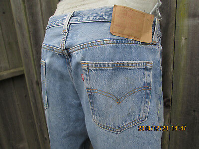 Vintage Levis 501 Blue Jeans Made in USA  W 36x30