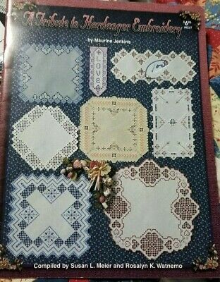 A Tribute to Hardanger Embroidery Book