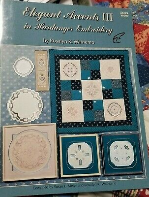 Elegant Accents III in Hardanger Embroidery Booklet