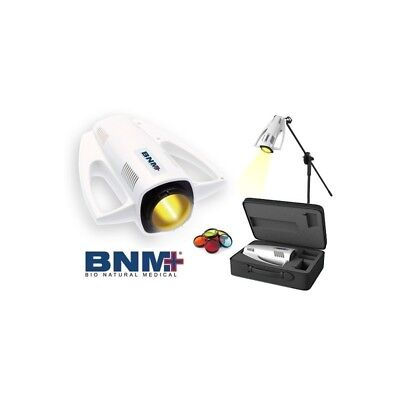 BNM Heal Lamp Device + color lense set and case ( like Zepter Bioptron )