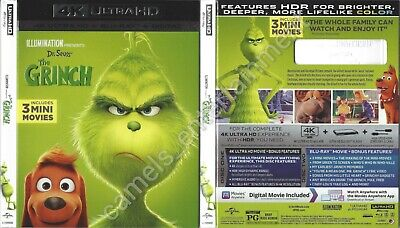 The Grinch (4K Ultra HD [UHD] Blu-ray SLIPCOVER ONLY * SLIPCOVER ONLY)