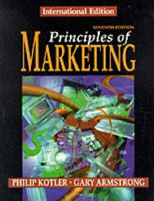 Principles of Marketing by Armstrong, Gary Paperback Book The Cheap Fast Free