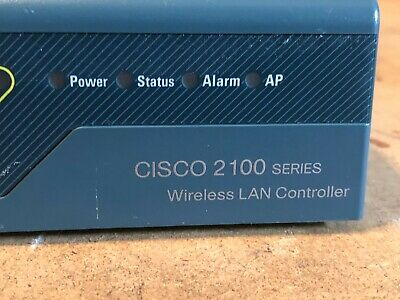 Cisco AIR-WLC2106-K9 V05 2100 Series Wireless LAN Controller (8) 10/100 Ports