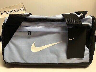 Nike Brasilia XS Extra Small Gym Duffel Bag Light Blue BA5982 410 f452c86cff457