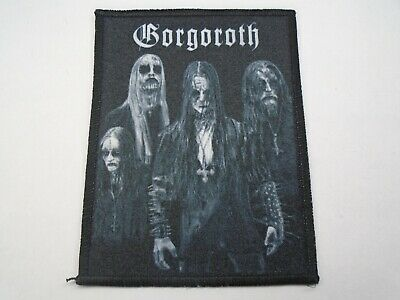 Gorgoroth Black Metal Sublimated Patch