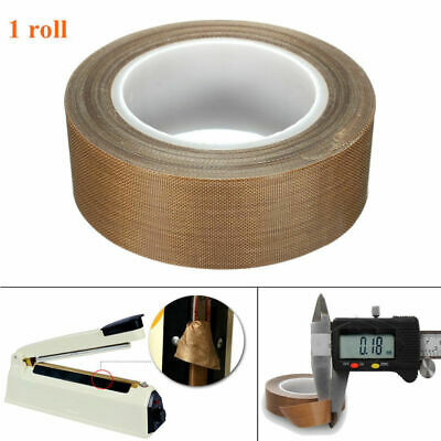 1 PCS PTFE Teflon Heat Resistant Insulation Silicone Adhesive Tape Length 10m