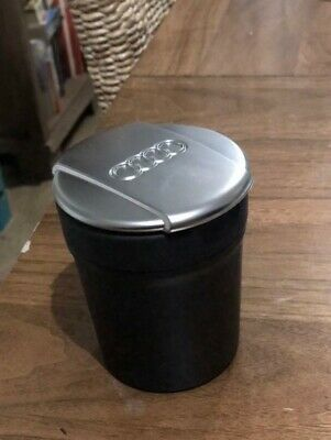 AUDI  ASHTRAY STORAGE CUP COIN HOLDER 8X0 864 575 A genuine New Unused