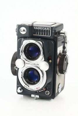 """Yashica 44 LM, TLR, 127-format roll-film camera """"AS-IS"""" From japan"""