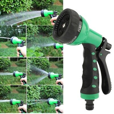 15 M Expandable Flexible Magic Hose Water Pipe Spray Gun Nozzle Deluxe Garden